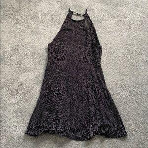 urban outfitters polka dot dress